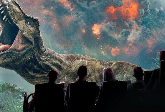 Viver o Mundo Jurássico em IMAX 3D: tem coragem?
