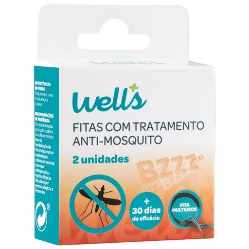 Pulseiras anti-mosquitos, Continente, 8,99€