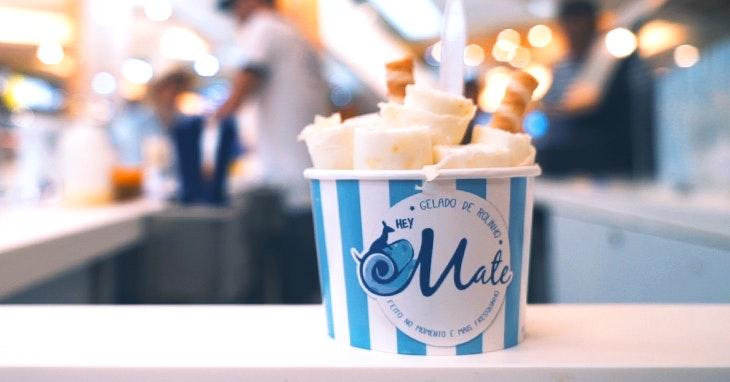 HeyMate, os melhores gelados de rolinho