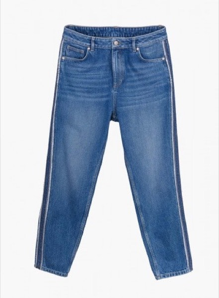 Altas   Os cigarrette e os mom jeans são boas opções para assumir os tornozelos à mostra e encurtar a perna.   Tiffosi, 49,99€