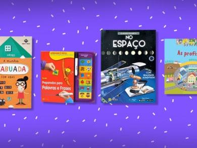 Um livro Edicare para cada fase do seu filho!