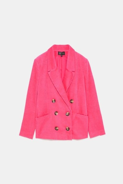 Blazer com botões, Zara, 49,95€