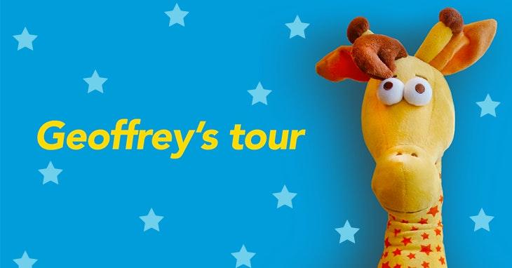 O Geoffrey está a chegar à Toys'R'Us do nosso Centro!