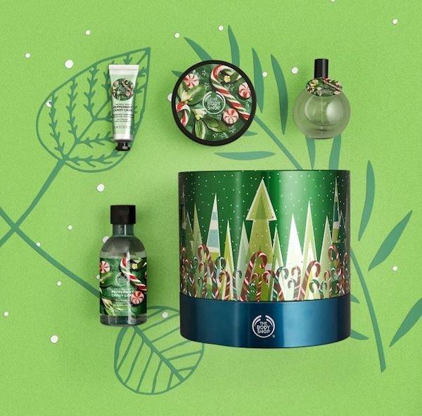 Gift set, The Body Shop, preço sob consulta