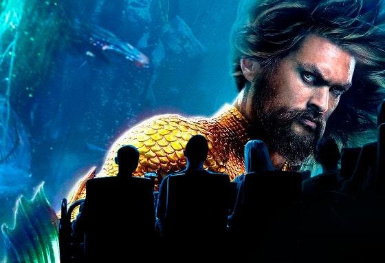 Navegar pelos sete mares com Aquaman em IMAX