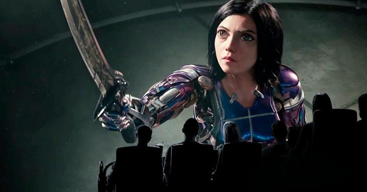 A nova estreia em IMAX é...Alita - Anjo de Combate!