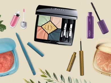 Entramos na primavera munidas de produtos para uma maquilhagem colorida e irreverente.