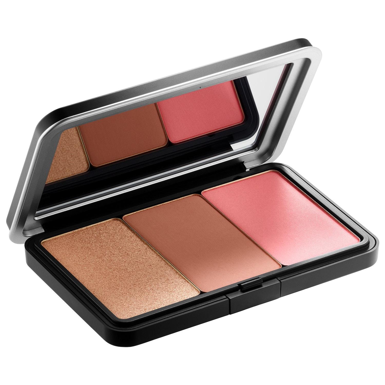 Produto idêntico ao usado no tutorial, Palete de face Make up For Ever, 21,55€