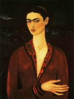 Auto-retrato em um vestido de veludo (1926)