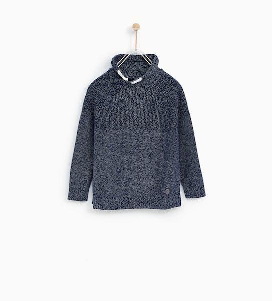 Camisola, Zara Kids, antes a 17,99€ agora a 7,99€
