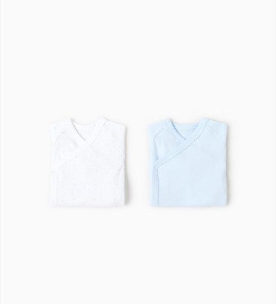 Pack de dois bodies, antes era a 9,95€e agora é a 7,99€, na Zara Kids