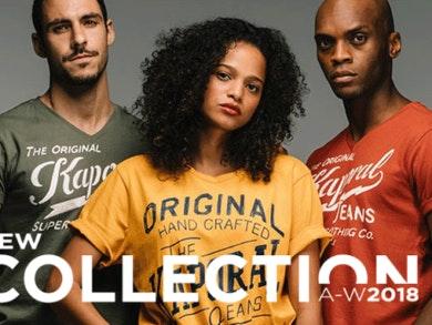 Kaporal: moda jovem com um toque desportista