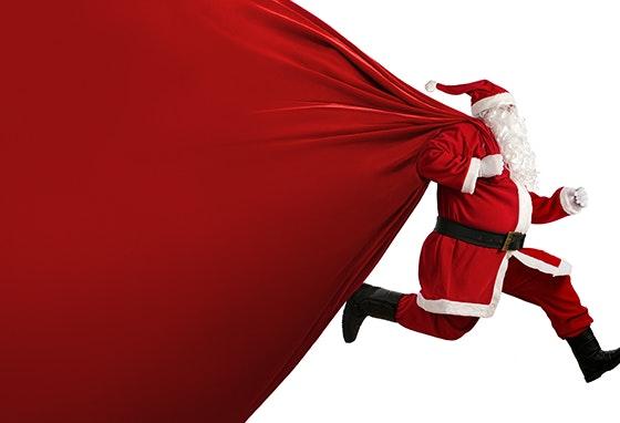 A alegria do Natal acontece aqui!