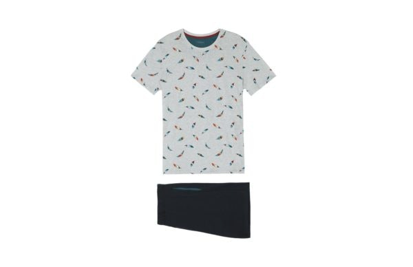 Pijama curto estampado, Intimissimi, 39,90€