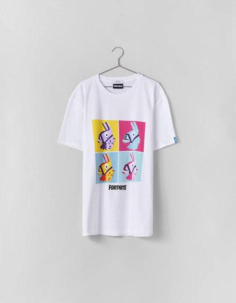 T-shirt, Bershka, antes a 17,99€ e agora a 2,99€