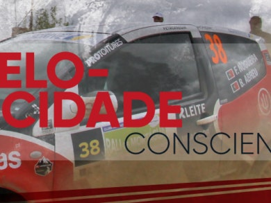 O piloto Filipe Nogueira traz o espírito dos ralis ao nosso Centro