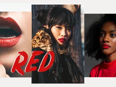 Batom vermelho: a atitude nos lábios