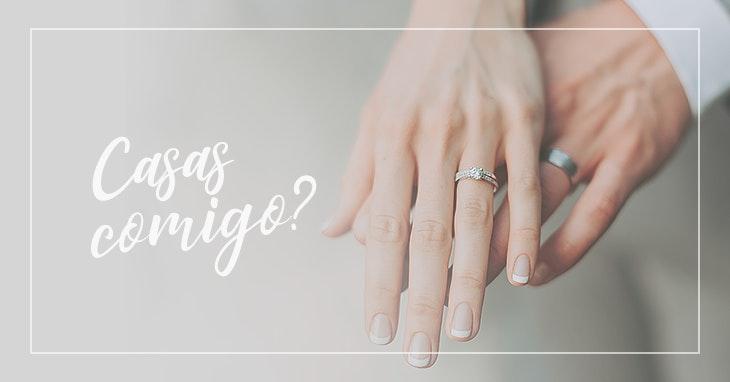 5 passos para escolher o anel de noivado ideal