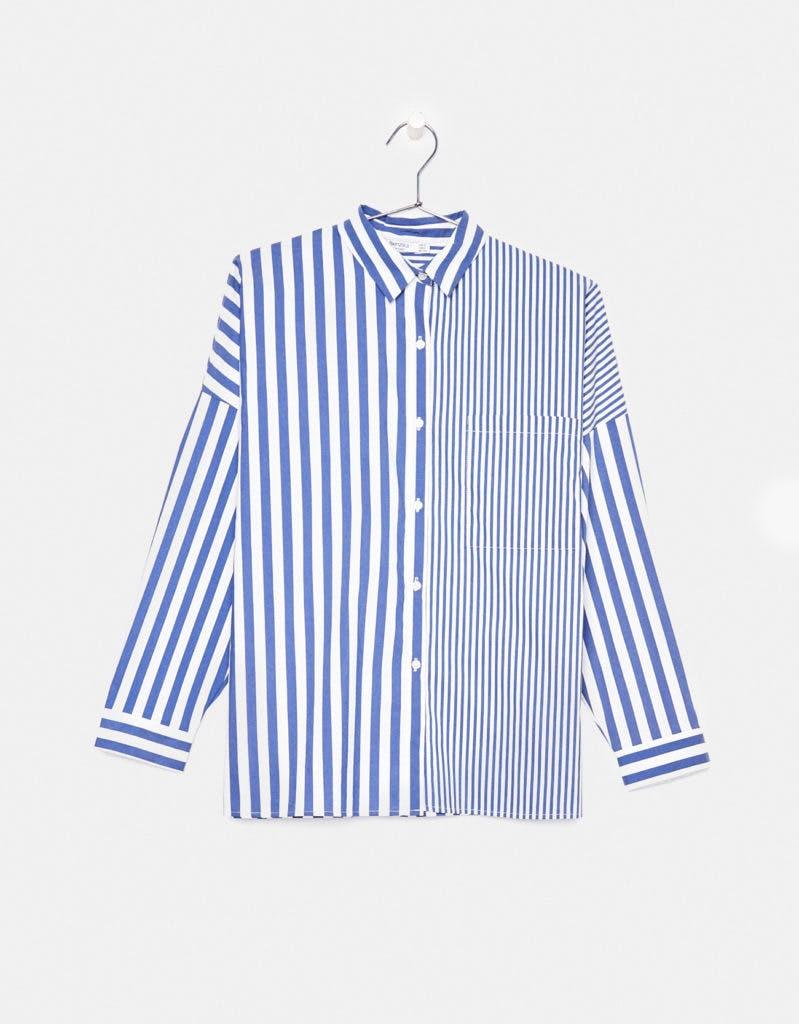 Camisa, Bershka, antes a 19,99€ agora a 12,99€
