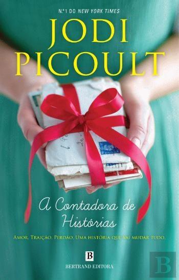 """""""A Contadora de Histórias"""", de Jodi Picoult, 18,80€ (desconto de 50% em cartão Leitor Bertrand)"""