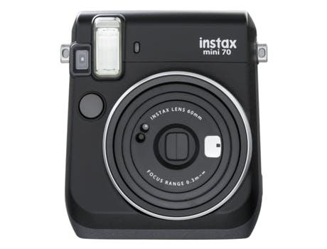 Máquina Fotográfica Fujifilm Instax Mini 70 Preta, 139,99€, na Worten