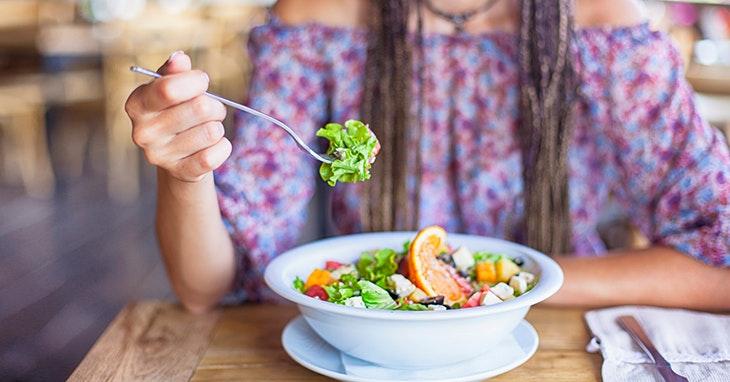 Um roteiro de comida saudável