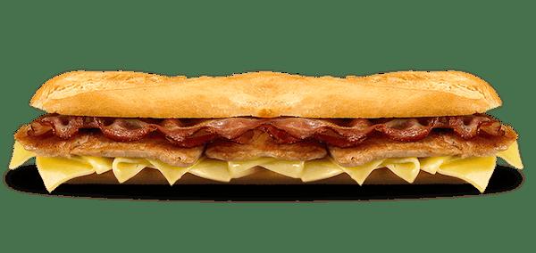 Clássico Lombo, Queijo e Bacon