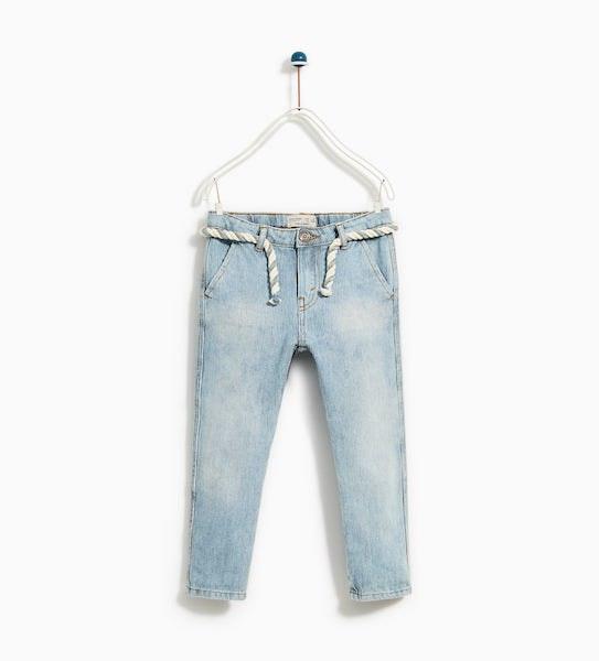Calças, Zara Kids, 22,95€ agora a 7,99€