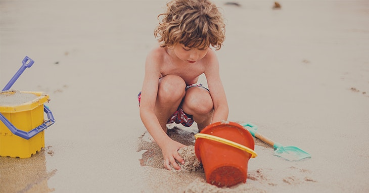 Viva a praia... com as crianças!