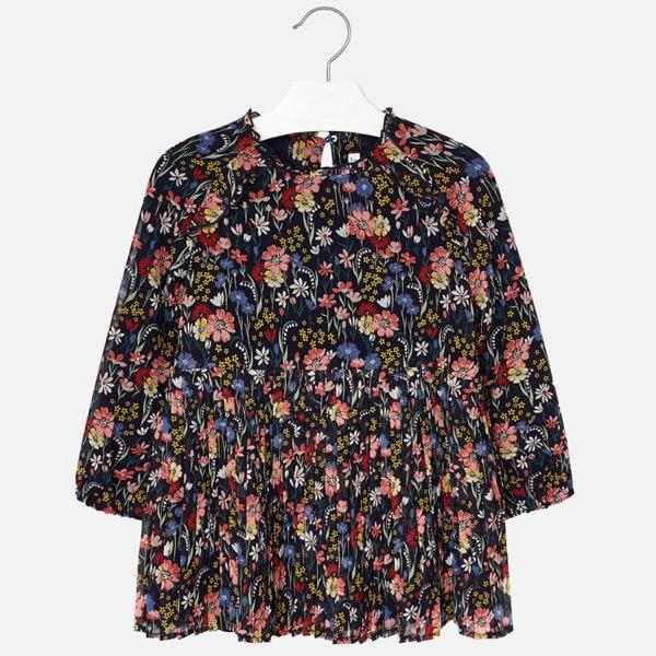 Vestido plissado, Mayoral, 41,99€