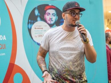 SirKazzio juntou mais de 500 pessoas para falar do YouTube