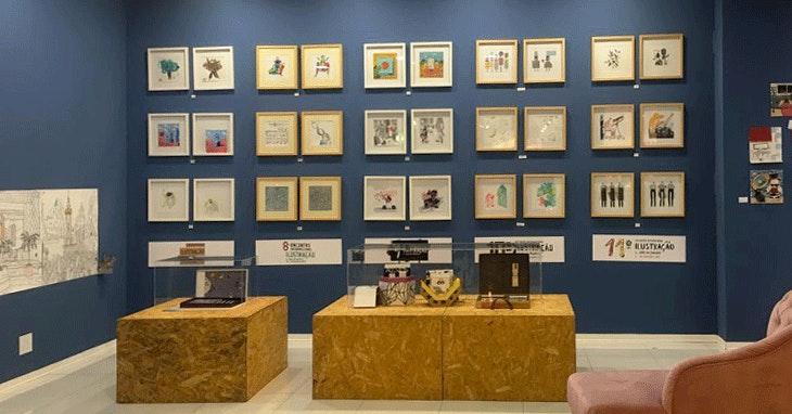 Exposição gratuita de ilustradores portugueses