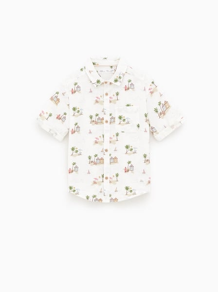 Camisa, Zara Kids, 15,95€