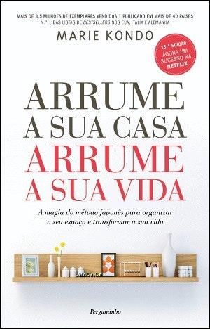 """""""Arrume a sua Casa, Arrume a sua Vida"""" de Marie Kondo, Bertrand, 14,40€"""