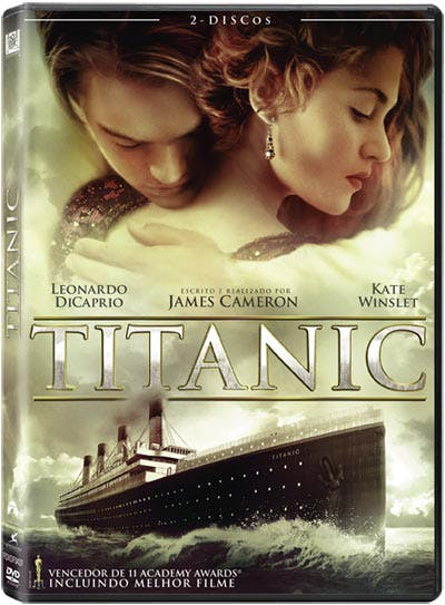 Titanic, 8€, na Fnac