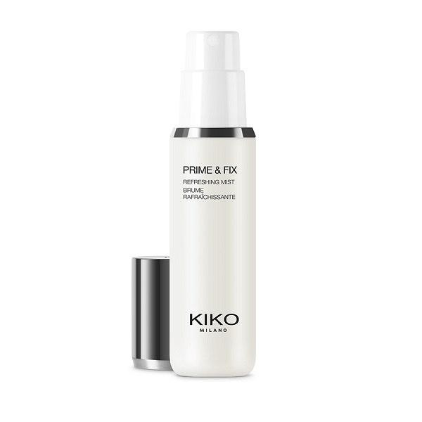 Primer e fixador Kiko Milano, 9,95€ | Essencial para preparar a pele para a maquilhagem, contribuindo para a sua fixação e para a ratificação da pele.