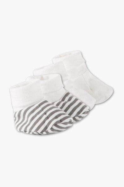 Botinhas de algodão, 4€, na C&A