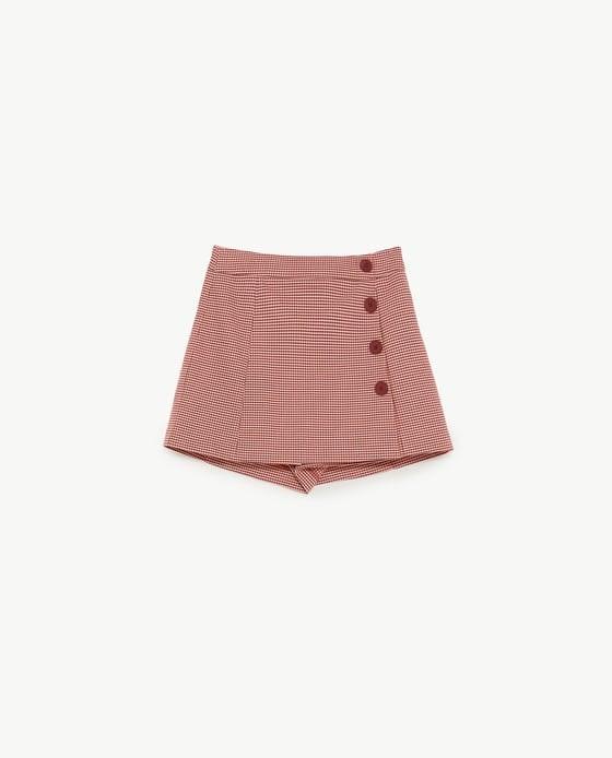 Saia-calção, Zara, 19,95€