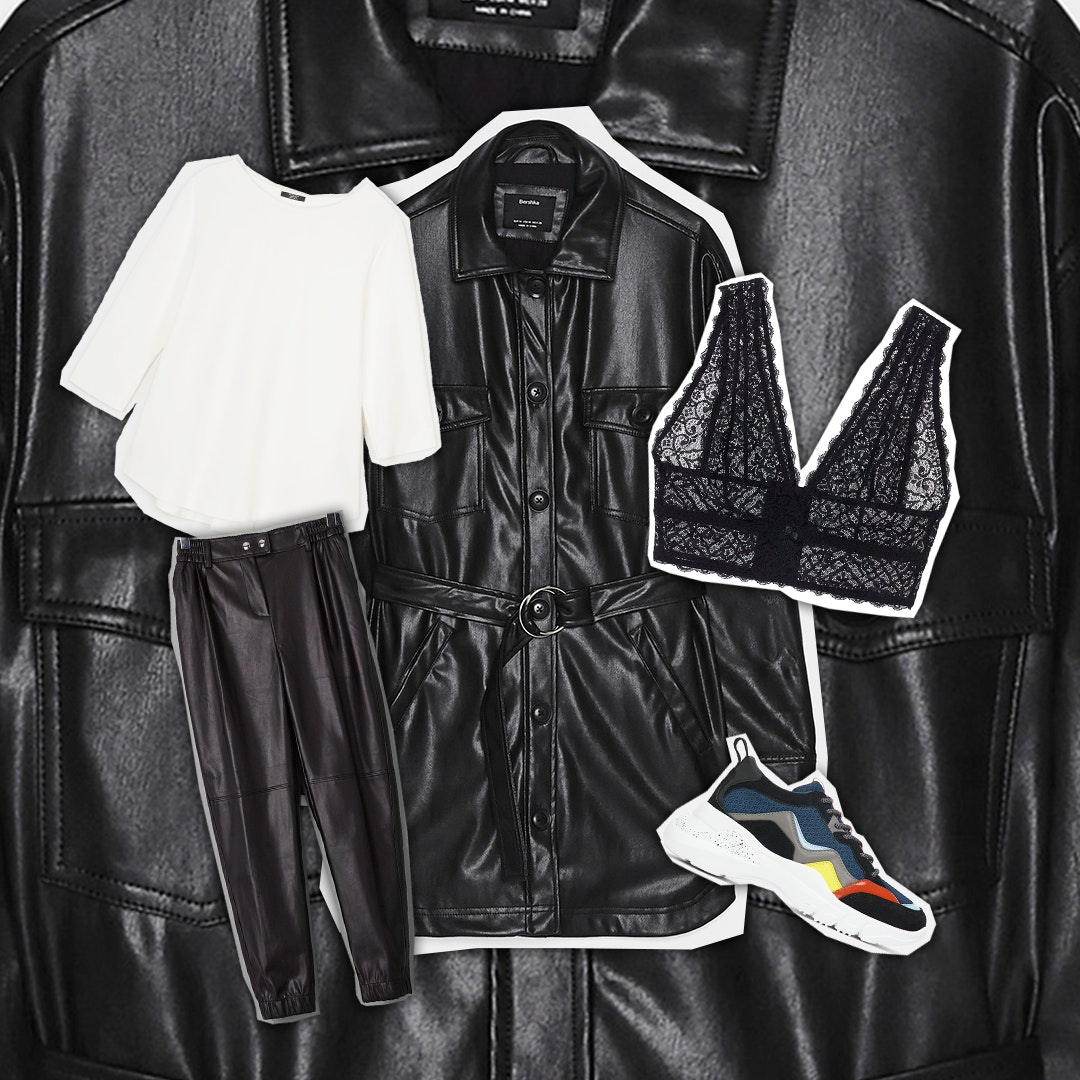 1   Nineties leather