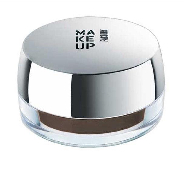 Creme Make Up Factory, antes a 17,60€ e agora a 13,20€ na Perfumes&Companhia | Pertence à coleção All Eyes on Brows, criada para dar volume, definir, fixar e moldar sobrancelhas.