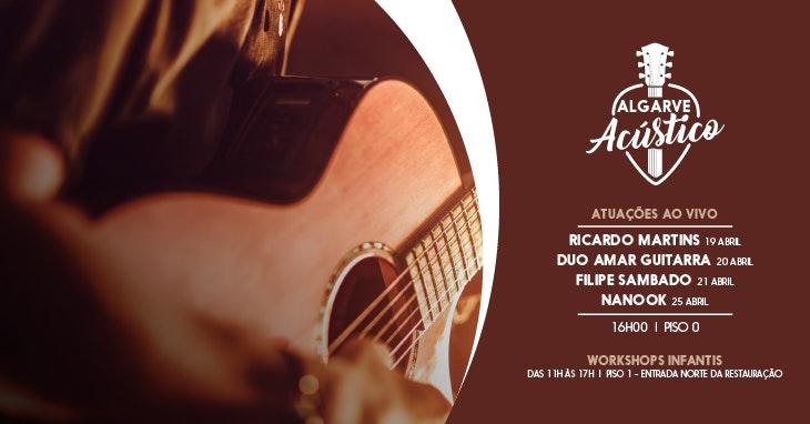 Algarve Acústico: concertos e workshops gratuitos