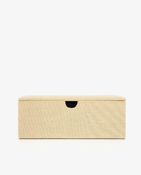 Caixa de linho, Zara Home, 29,99€