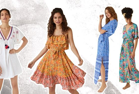 Moda Verão: Os Melhores Vestidos de Praia