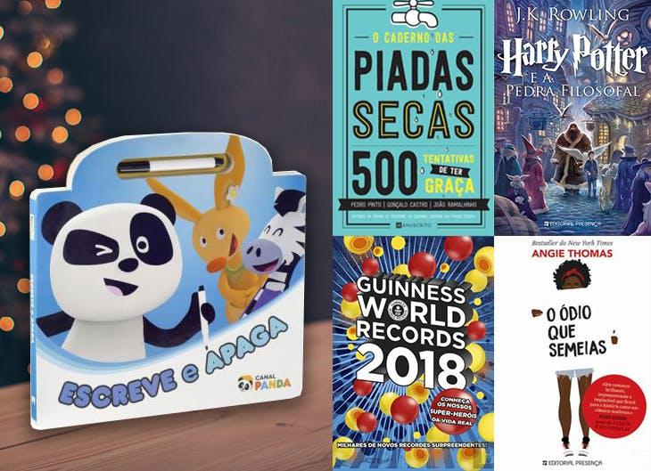 Vários SC - Livros infantis para o Natal