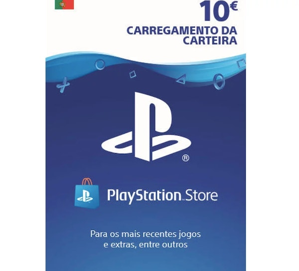 Carregamento Playstation, Worten, 10€