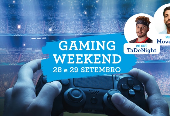 Gaming Weekend no CoimbraShopping