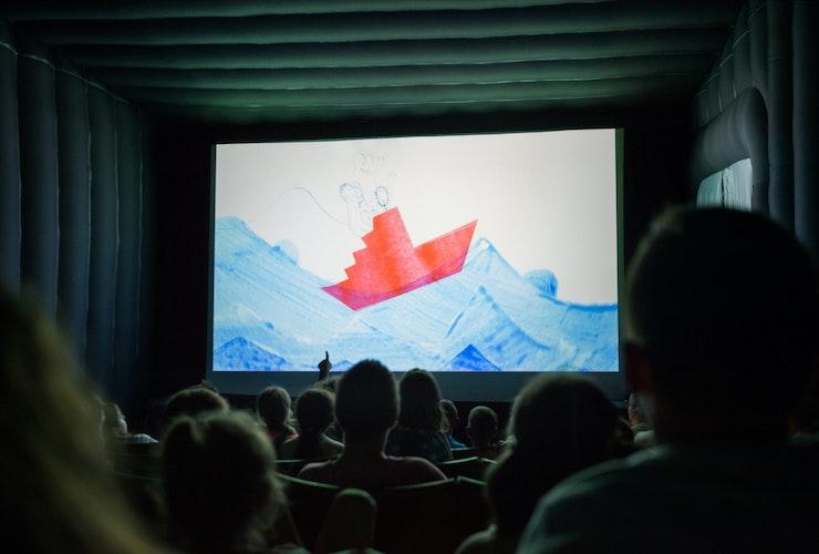 cinema insuflável