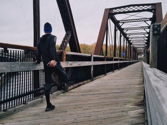 estiramientos después de correr