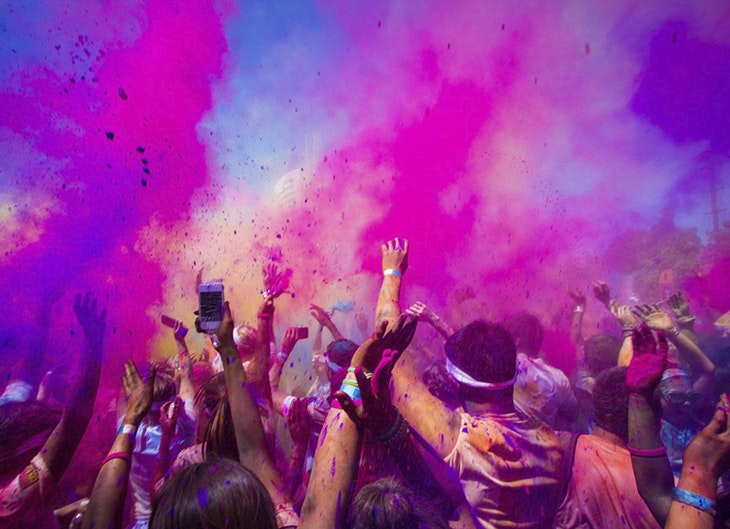 'Holi Day Party'