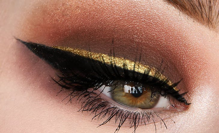 raya de ojos dorada
